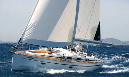 Sailing Charter On Bavaria 35 Cruiser