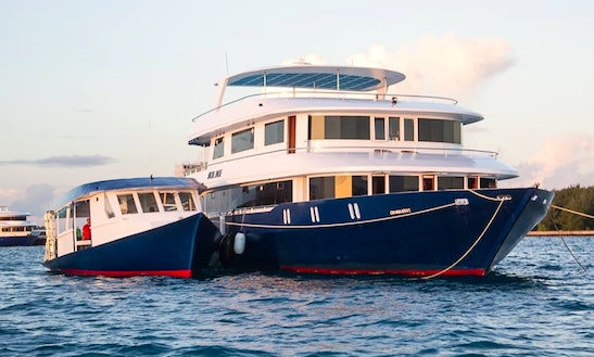 Charter The Liveaboard 95ft