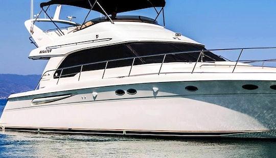 Explore Latchi, Cyprus By 52' Power Mega Yacht