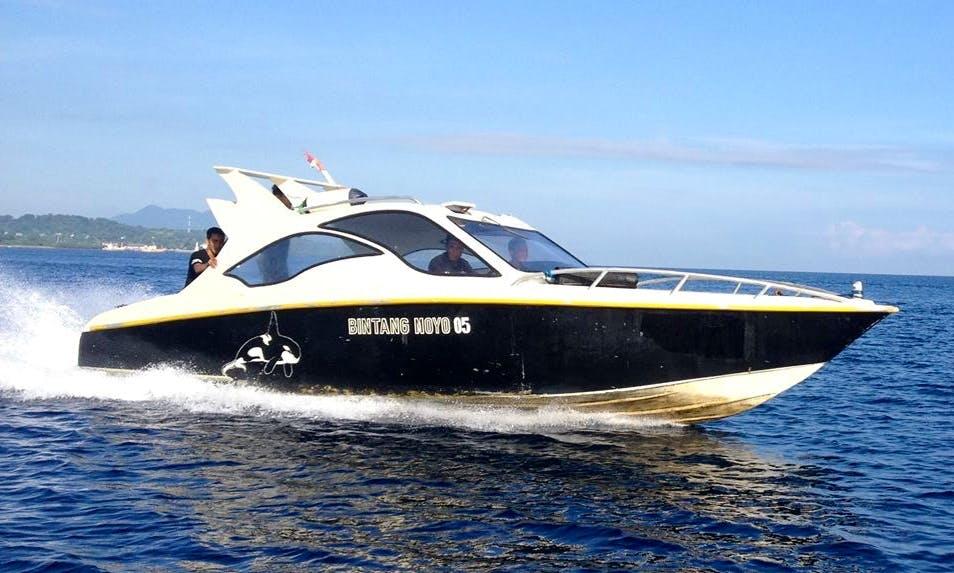 Wonderful Boat Trip in Moyo Island