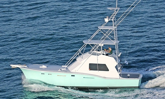 Charter 51' Sport Fisherman Hatteras In Miami