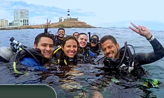 Scuba Diving In Salvador, Bahia