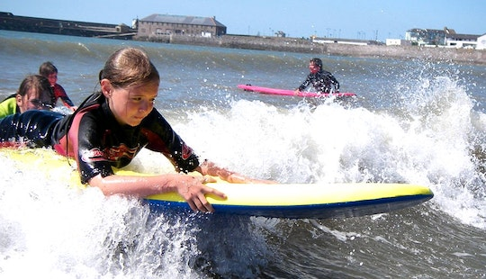 Enjoy Surf Lessons In Rest Bay, Porthcawl, Wales
