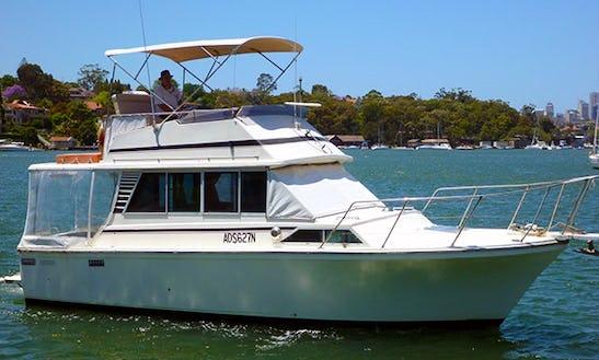 Charter 31' Vision Motor Yacht In Newport, Australia