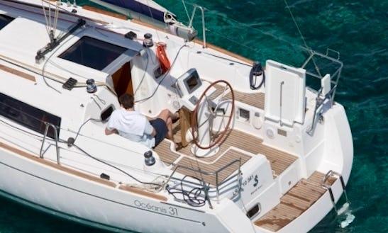Discover Barcelona's Beautiful Beaches - Charter A Beneteau Oceanis Sailing Yacht!