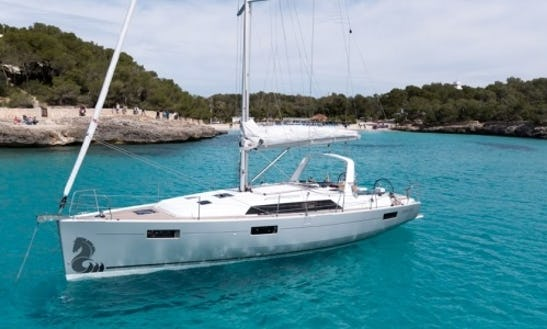 41ft Beneteau Oceanis Sailboat Charter In Barcelona, Spain