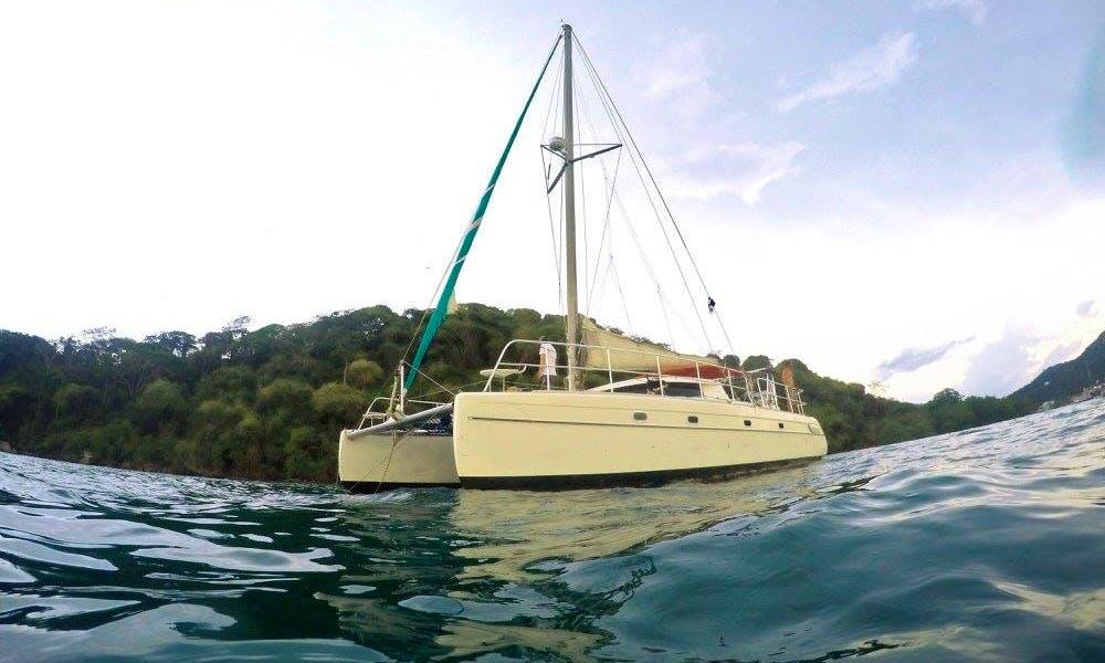 Cruising Catamaran 360 in Panama/Colombia via San Blas, Panama