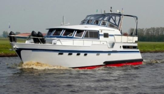 Charter 45' Zephyrus Motor Yacht In Friesland, Netherlands