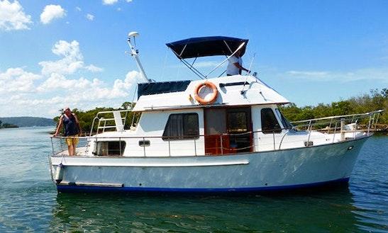 Charter 34' Clipper Trawler In Newport, Australia