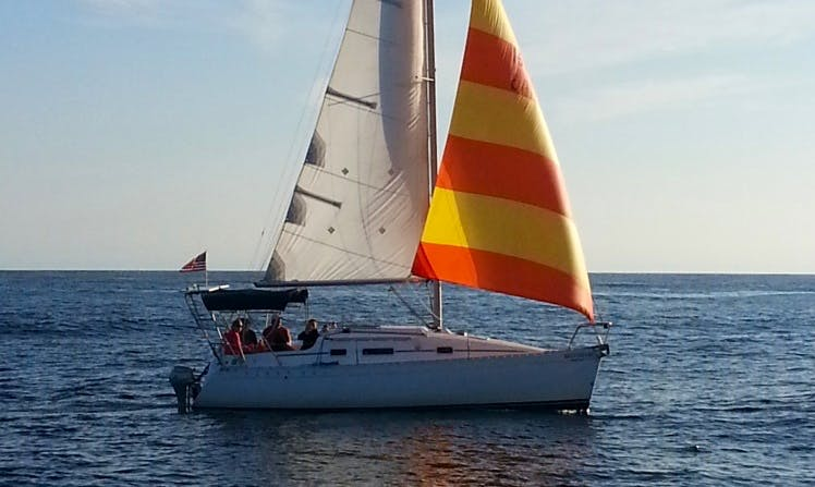 "Rent 26ft ""Braveheart"" Sloop In Destin, Florida"