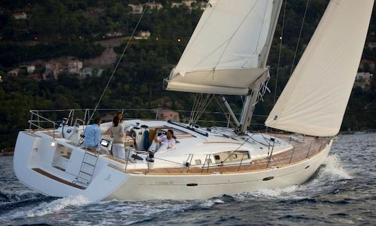 Bareboat Charter On Beneteau Oceanis 54 In Kerkira, Greece