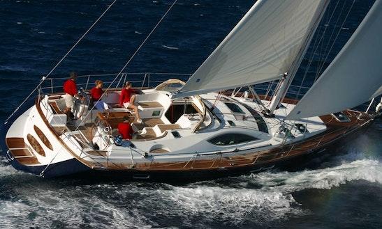 Jeanneau 54 D.s Sailing Yacht Charter In Kerkira, Greece