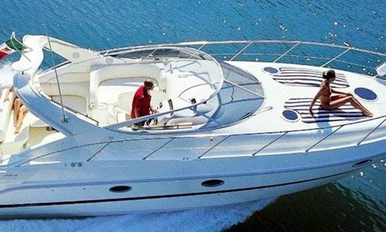 Cranchi Zafiro 34 Motor Yacht Charter In Kerkira, Greece