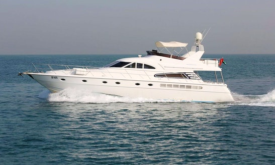 Charter 75' Luxury Power Mega Yacht In Dubai, Uae
