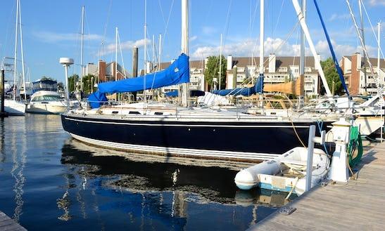 Charter 40' Hunter Legend Sailing Yacht Stamford Ct