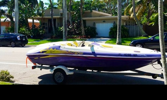Rent 15ft Sea-doo Sportster Bowrider In Hollywood, Florida