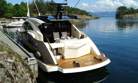 Explore Stavanger, Norway On 43' Motor Yacht Charter