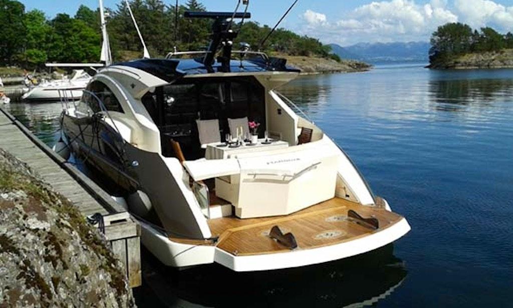 explore stavanger norway on 43 39 motor yacht charter. Black Bedroom Furniture Sets. Home Design Ideas