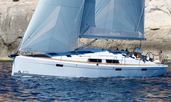 Charter The 42ft Hanse 415 Cruising Monohull In Tortola, British Virgin Islands