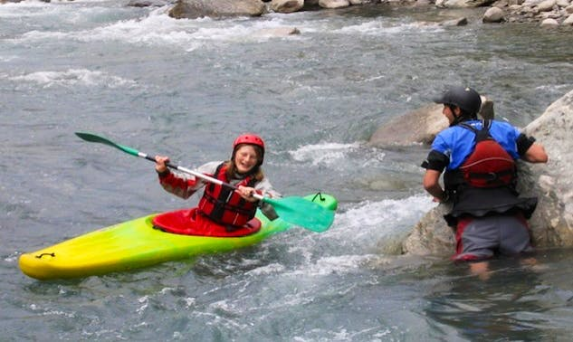 White Water Kayak School in Pokhara, Nepal