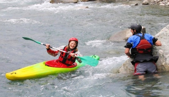 White Water Kayak School In Pokhara, Nepal