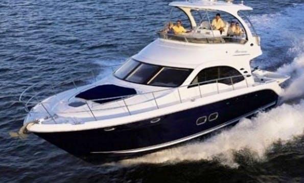 50' SeaRay Motor Yacht Charter in Miami, Florida