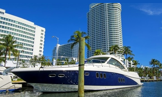 60' Searay Motor Yacht Charter In Miami, Florida
