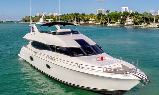 84' Lazzara Power Mega Yacht In Miami, Florida