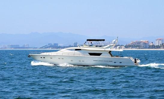 Charter Ferretti 80 Power Mega Yacht In Puerto Vallarta, Mexico