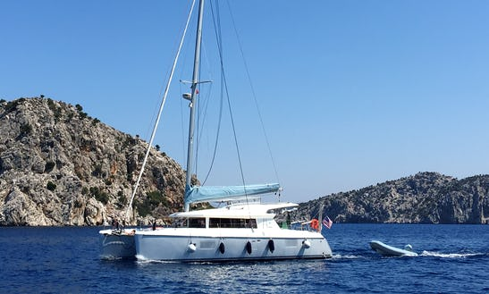 Charter Logoon 421 Catamaran Yacht In Turkey