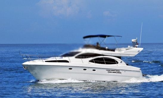 46' Azimut Motor Yacht Charter In Puerto Vallarta, Mexico
