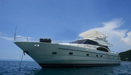 Charter The 65' Vtech Luxury Motor Yacht In Puerto Vallarta, Mexico