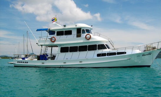 Thai Sportfishing Yacht For Live Abaord Trips In Phuket