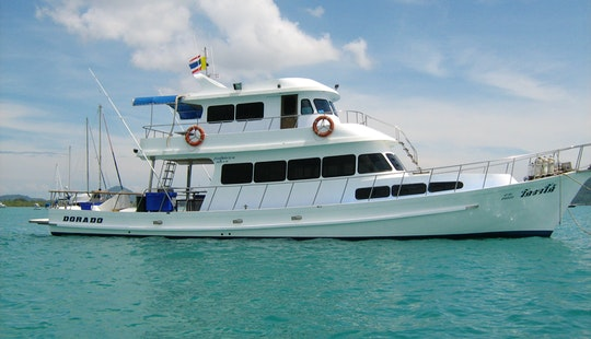 Thai Sportfishing Yacht For Live Aboard Trips In Phuket