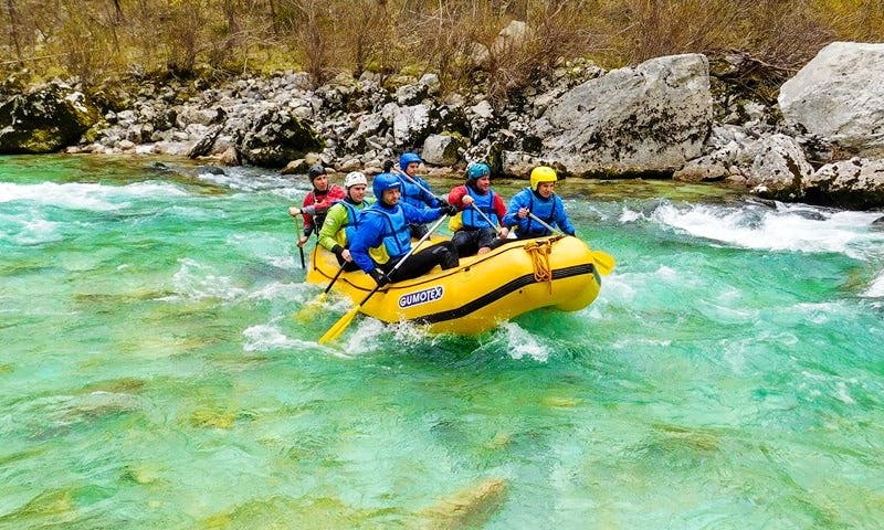 Enjoy Rafting Trips on Soca River, Bovec