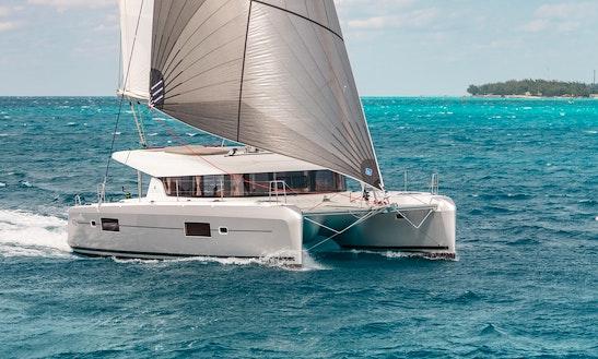 Sailing Charter On 42' Lagoon Catamaran In Ibiza, Spain