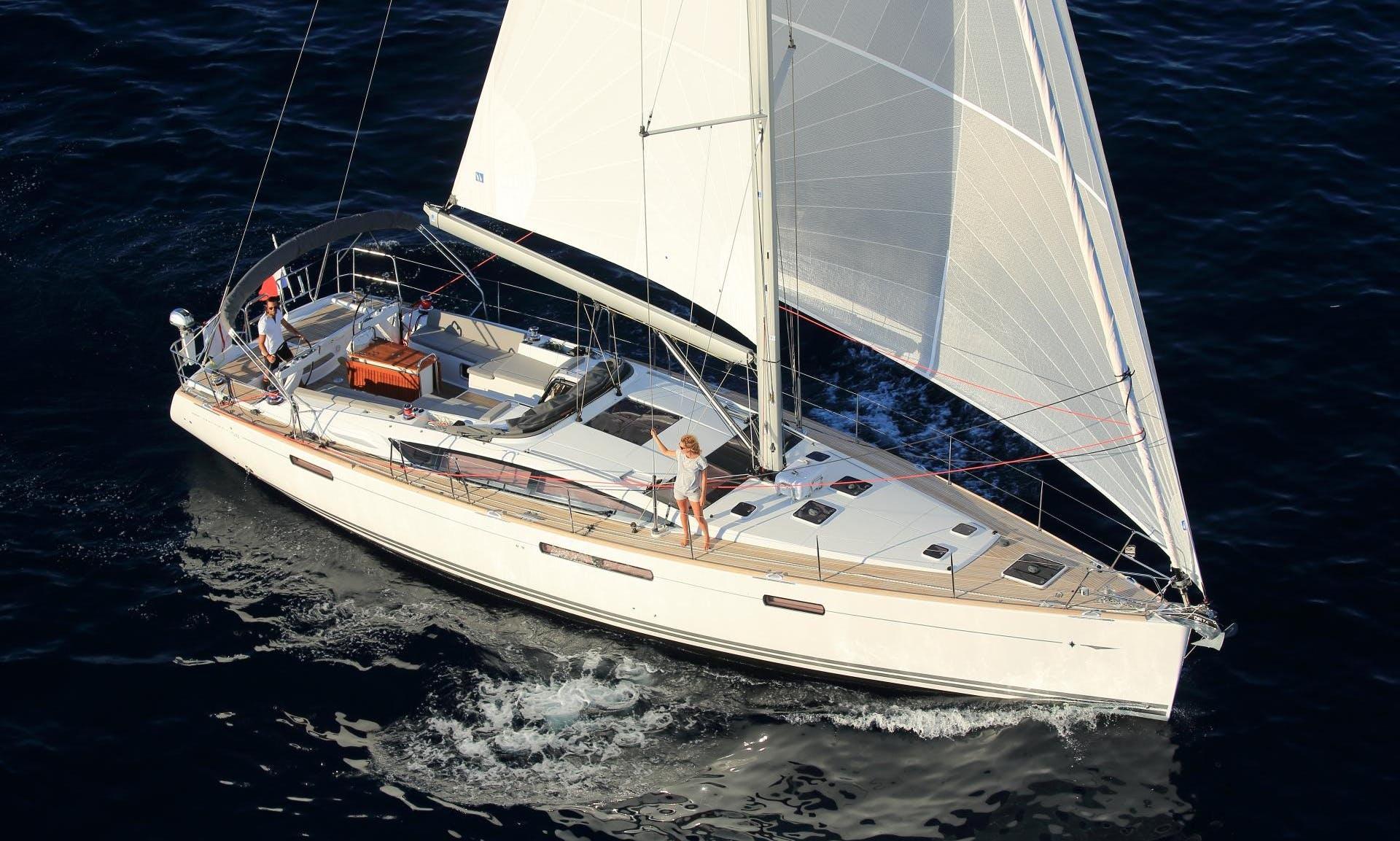 Charter 53' Cruising Monohull in Kalkara, Malta