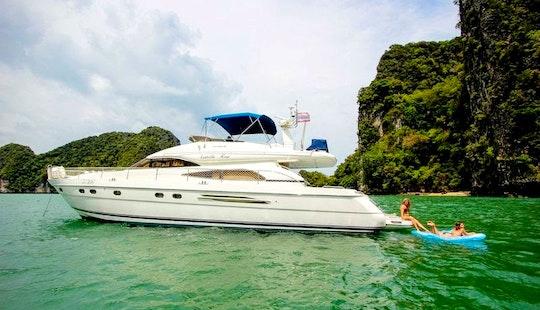 Charter 65' Power Mega Yacht In Phuket, Thailand