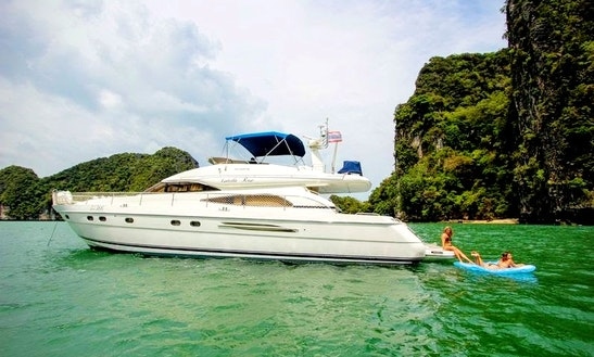 Charter 65' Power Mega Yacht In Phuket, Thailand