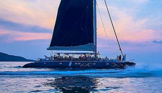 Charter 73' Cruising Catamaran In Phuket, Thailand