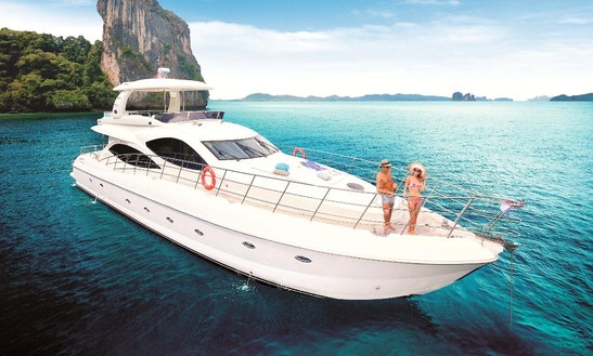 Charter 79' Power Mega Yacht In Phuket, Thailand