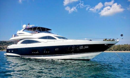 Charter 90' Power Mega Yacht In Phuket, Thailand