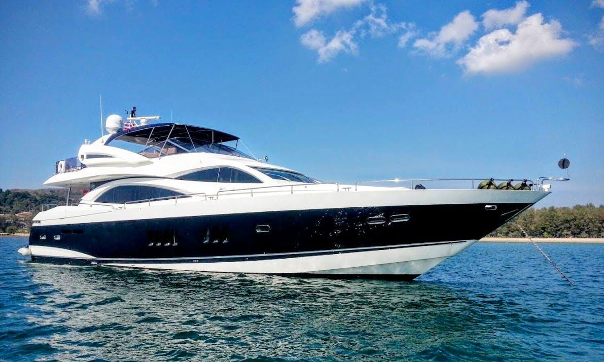 Charter Sunseeker 90' Power Mega Yacht in Phuket, Thailand