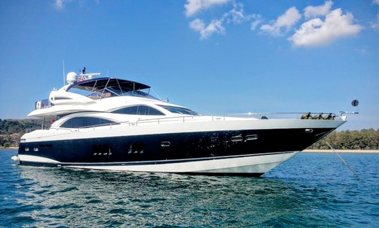 Charter 90' Power Mega Yacht In Phuket, Thailand