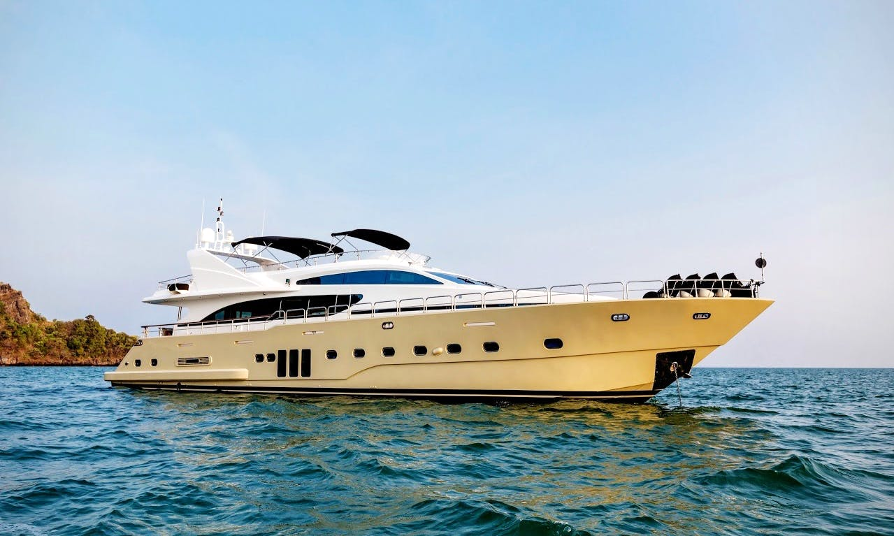 Charter 98' Power Mega Yacht in Phuket, Thailand