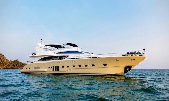 Charter 98' Power Mega Yacht In Phuket, Thailand