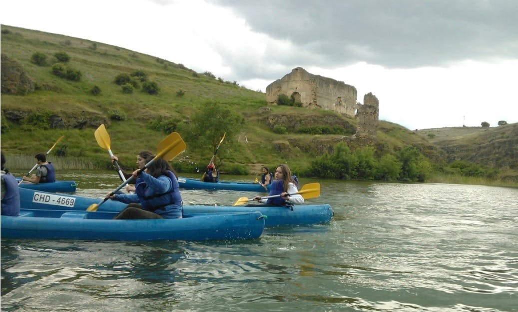 Canoeing Ride in San Miguel de Bernuy, Spain