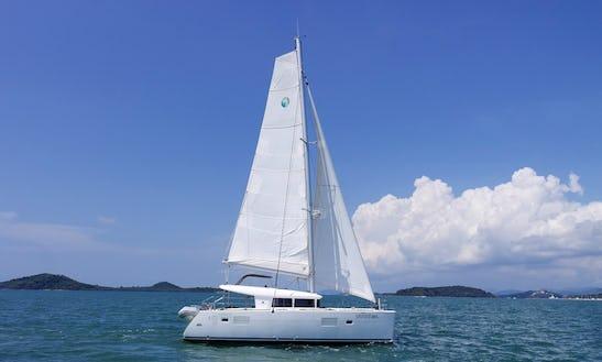 Charter An 8 Person Lagoon Sailing Catamaran In Tambon Pa Klok, Thailand
