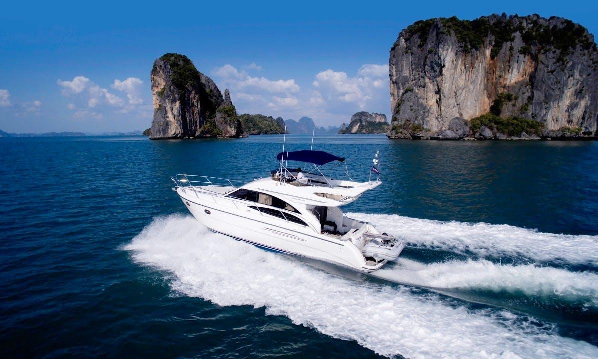 Charter 44' Motor Yacht in Phuket, Thailand