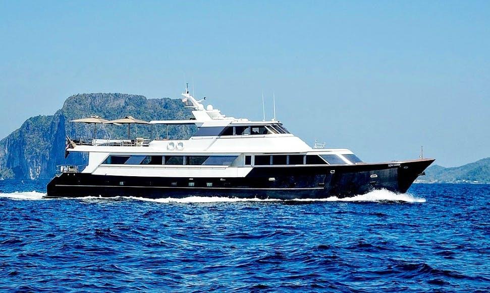 Charter 122' Power Mega Yacht in Phuket, Thailand